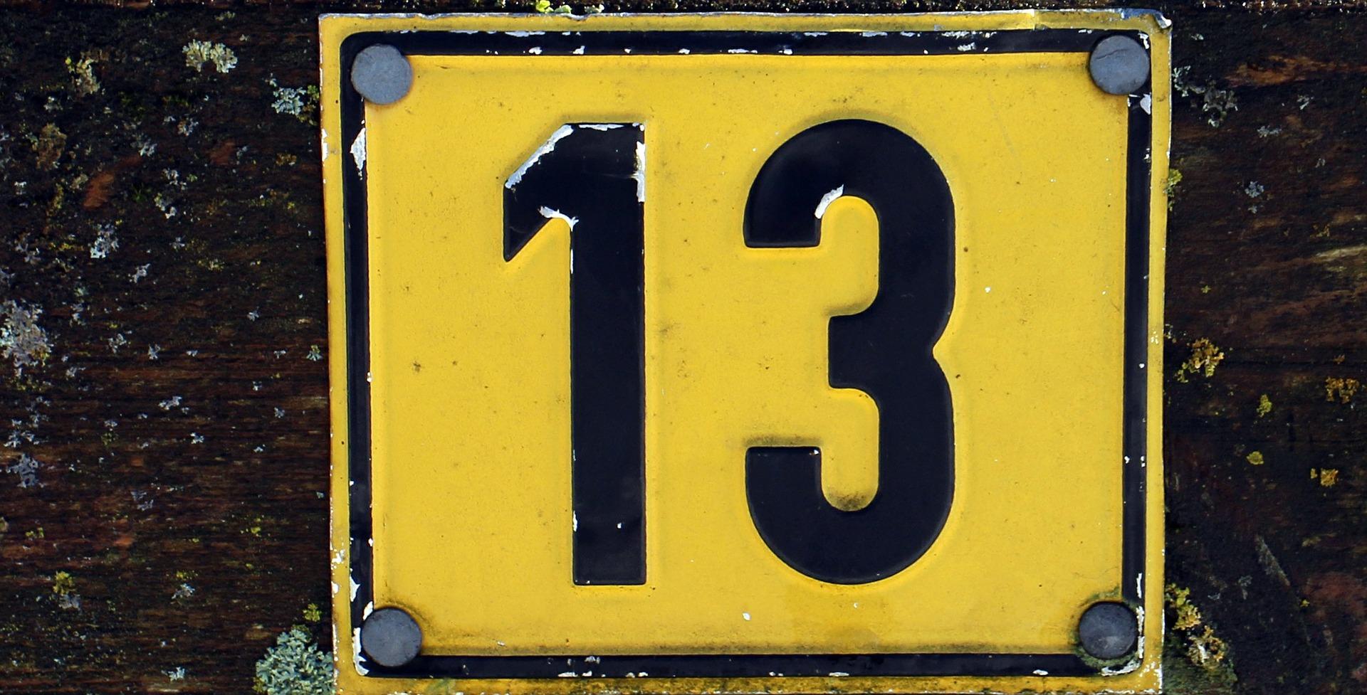 Fóbia z čísla trinásť je celkom častý jav