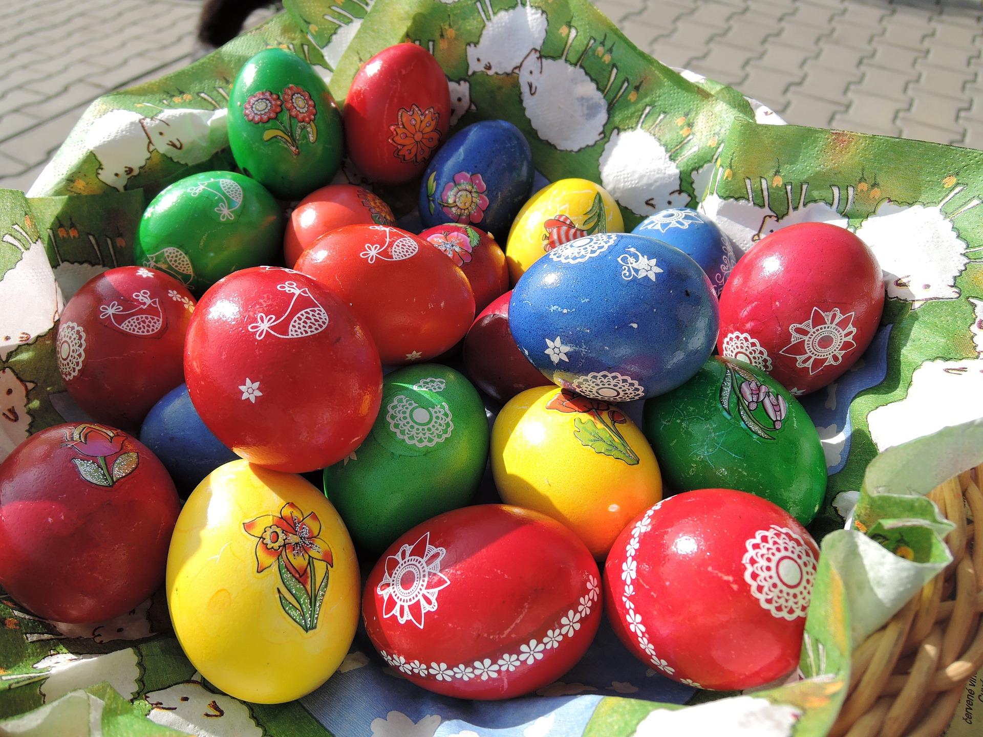 Farbíte veľkonočné vajíčka?