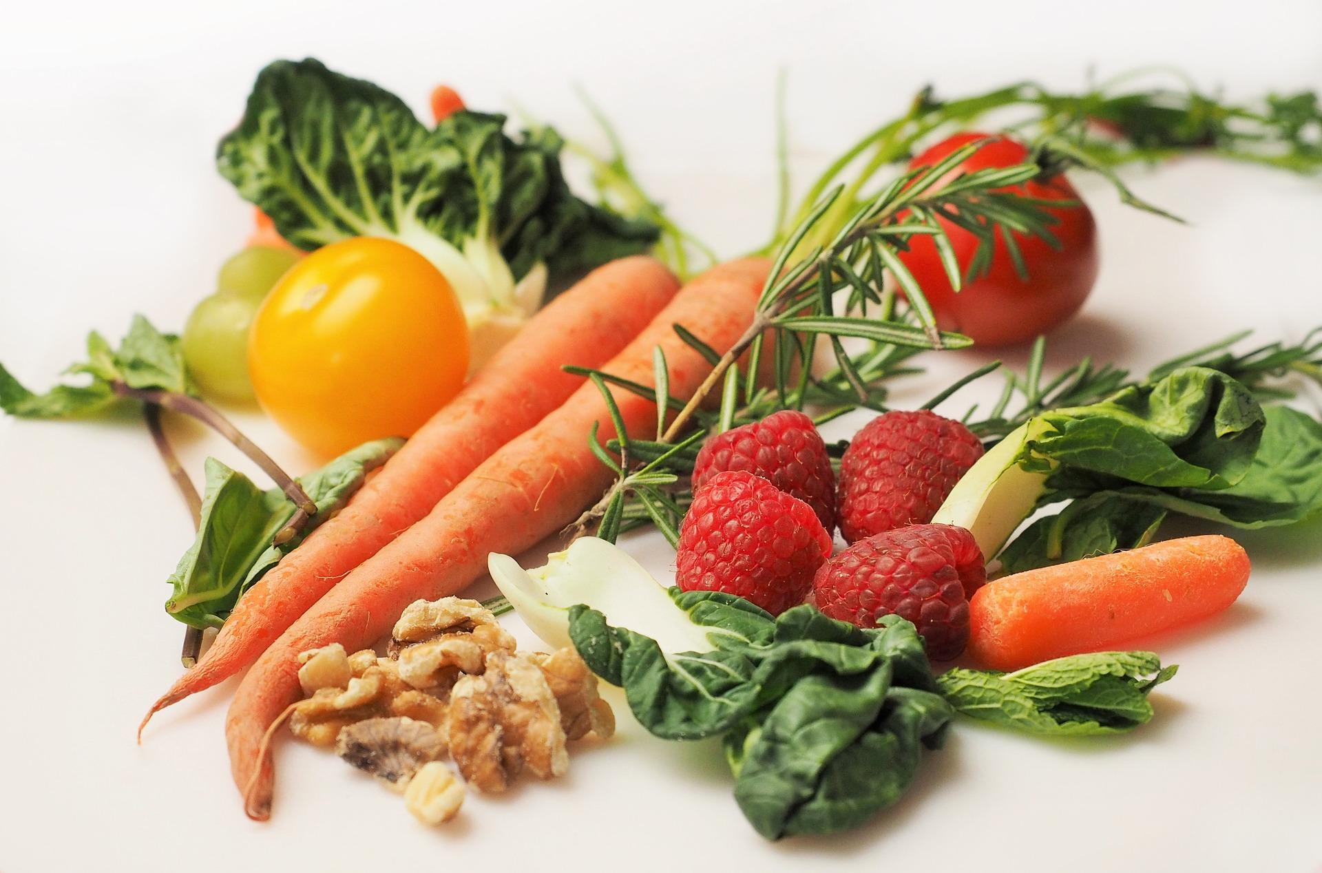 Doprajte si nálož ovocia a zeleniny